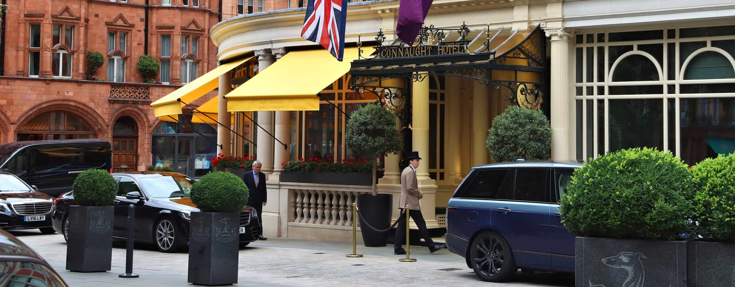 The Connaught Hotel In London, UK